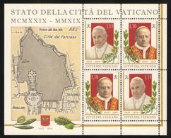 2019 - VATICAN - VATICANO - VATIKAN - S11L - MNH - SET OF 4 STAMPS   ** - Vaticano (Ciudad Del)