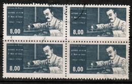 BRAZIL  Scott # 971 VF USED BLOCK Of 4 (Stamp Scan # 485) - Brazil