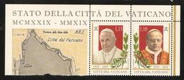 2019 - VATICAN - VATICANO - VATIKAN - S11L1 - MNH - SET OF 2 STAMPS   ** - Vatican