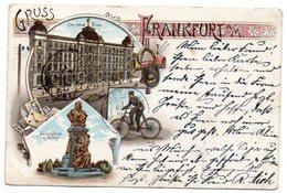 ***CPA - Allemagne - Frankfurt - Gruss Aus Frankfurt - 1897 - Précurseur - Poste - Frankfurt A. D. Oder
