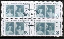 BRAZIL  Scott # 1014 VF USED BLOCK Of 4 (Stamp Scan # 485) - Brazil