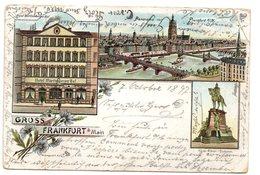 ***CPA - Allemagne - Frankfurt - Gruss Aus Frankfurt - 1897 - Précurseur - - Frankfurt A. D. Oder