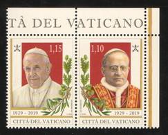 2019 - VATICAN - VATICANO - VATIKAN - S11L3 - MNH - SET OF 2 STAMPS   ** - Vatican
