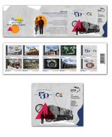 GREECE STAMPS 2019/150 YEARS GREEK RAILWAYS-MNH-SELF ADHESIVE-BOOKLET-12/4/19(2500pcs Only!!) - Eisenbahnen