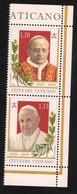 2019 - VATICAN - VATICANO - VATIKAN - S11L6 - MNH - SET OF 2 STAMPS   ** - Vatican