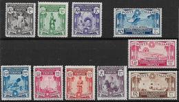 COLONIE ITALIANE LIBIA 1931 5° FIERA DI TRIPOLI SASS. 95-102+POSTA AEREA 102+ESPRESSO 16 MLH VF+++++++++ - Libye