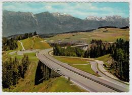 BRENNERAUTOBAHN   MIT PARKPLATZ EUROPABRUKE UND  KAPELLE     (VIAGGIATA) - Austria