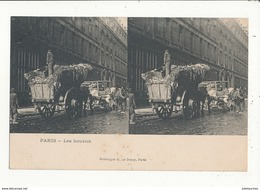 PARIS METIER LES BOUEUX CPA BON ETAT - Artisanry In Paris