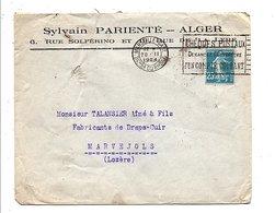 ALGERIE LETTRE A EN TETE DE MARSEILLE 1924 - 1921-1960: Modern Period