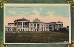 CARTOLINA - INDIA - CALCUTTA GOVERNMENT HOUSE - India