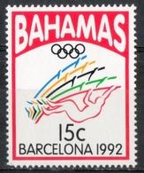 Bahamas 1992 - Giochi Olimpici Barcellona Olympic Games Barcelona Salto Con L'asta Pole Vault  MNH ** - Jumping
