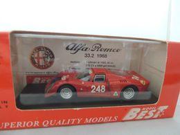 ALFA ROMEO 33.2 NR. 248 TARGA FLORIO 1969 BEST 9137 NUOVA IN BOX - Best Model