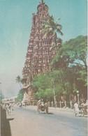 CARTOLINA - INDIA - MEENAKSHI TEMPLE MADURAI - India