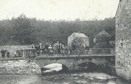 +++ CPA - SPONTIN - Le Pont Du Moulin - Carte Animée   // - Yvoir