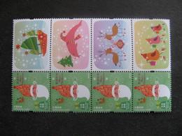 HONG-KONG : TB Paire Bande De 4 Timbres Personnalisés N° 1762, Avec Les 4 Vignettes Différentes, Neuve XX. - 1997-... Région Administrative Chinoise