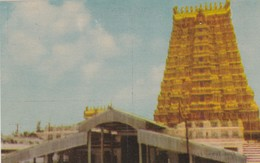 CARTOLINA - INDIA - EAST TOWER FRONT VIEW - India