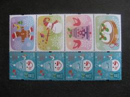 HONG-KONG : TB Paire Bande De 4 Timbres Personnalisés N° 1763, Avec Les 4 Vignettes Différentes, Neuve XX. - 1997-... Région Administrative Chinoise
