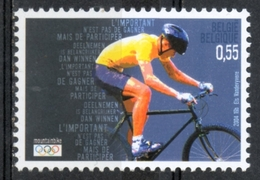 Belgio Belgium 2004 - Giochi Olimpici Atene Olympic Games Athens Ciclismo Cycling  MNH ** - Ciclismo