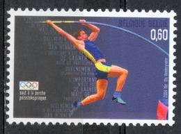 Belgio Belgium 2004 - Giochi Olimpici Atene Olympic Games Athens Salto Con L'asta Pole Vault MNH ** - Salto