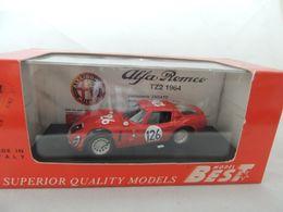 ALFA ROMEO TZ2 NR. 126 TARGA FLORIO 1966 BEST 9105 NUOVA IN BOX - Best Model