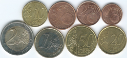 Belgium - Philippe - 2014 - 1, 2, 5, 10, 20 & 50 Cents; 1 & 2 Euro (KMs 331-338) - Belgique