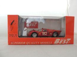 ALFA ROMEO 33.2 NR. 182 TARGA FLORIO 1968 BEST 9191 NUOVA IN BOX - Best Model