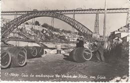 Porto - Cais De Embarque De Vinho Do Porto, Gaia (top Animation, 1956, Edi. Artisticas) - Porto
