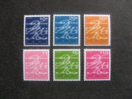HONG-KONG : TB Série Timbres-Taxe N° 30 Au N° 35, Neufs XX. - 1997-... Chinese Admnistrative Region
