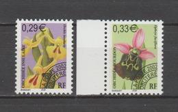 FRANCE / 2002 / Y&T PREO N° 244/245 ** : Orchidées - 1ère Série (2 TP) - Gomme D'origine Intacte - 1989-....