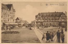CPA - Belgique - Knokke - Knocke - Place Albert - Knokke