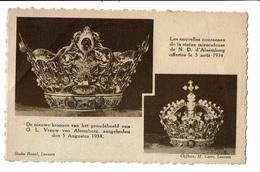 CPA - Carte Postale  Belgique Alsenberg- Nouvelles Couronnes De La Statue Miraculeuse Offerte Le 5/08/1934-VM2148 - Beersel