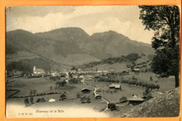 FR730, Charmey Et Le Bifé, 284, Circulée 1907 - FR Fribourg