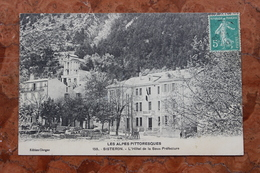 SISTERON (04) - L'HOTEL DE LA SOUS PREFECTURE - Sisteron