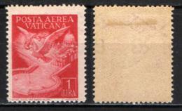 VATICANO - 1947 - COLOMBE - ANGELI E LUOGHI SACRI - MH - Poste Aérienne