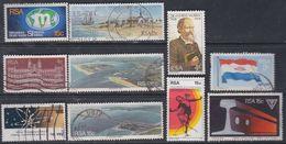 Afrique Du Sud N° 437 / 46  X, O :  Les 10 Valeurs Oblitérations Moyennes Ou Trace De Charnière Sinon TB - Afrique Du Sud (1961-...)