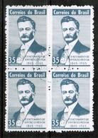 BRAZIL  Scott # 1002 VF USED BLOCK Of 4 (Stamp Scan # 486) - Brazil