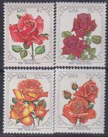 Afrique Du Sud N° 467 / 70 XX : 4ème Congrès Des Sociétés De La Rose, Les 4 Vals Sans Charnière Sinon TB - Afrique Du Sud (1961-...)