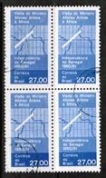 BRAZIL  Scott # 920 VF USED BLOCK Of 4 (Stamp Scan # 486) - Brazil