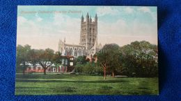 Gloucester Cathedral From The Paddock England - Gloucester