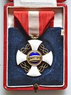Croce Da Cavaliere Dell'Ordine Della Corona D'Italia Con Astuccio Originale - Professionals/Firms