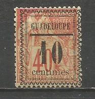 GUADALUPE YVERT NUM. 7 USADO - Guadeloupe (1884-1947)