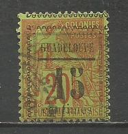GUADALUPE YVERT NUM. 8 USADO - Guadeloupe (1884-1947)