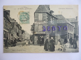 Saint Pois.   Carrefour Pittoresque.  Boucherie Constant Guesdon. - France