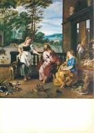 Art - Peinture Religieuse - Pierre-Paul Rubens - Christ In The House Of Martha And Mary - Carte Neuve - Voir Scans Recto - Peintures & Tableaux