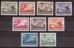 Luxembourg - 1946 - PA N° 7 à 15 - Neufs ** - Neufs