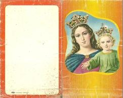 """3151 """" CALENDARIO 1975 """" LA MADONNA COL BAMBIN GESU' - ORIGINALE - Calendari"""
