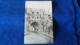 Canterbury Christ Church Gate England - Canterbury