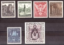 Luxembourg - 1947 - N° 392 à 397 - Neufs ** - Reconstruction Du Sanctuaire D'Echternach - Neufs