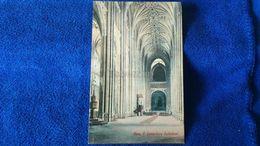 Nave E. Canterbury Cathedral England - Canterbury