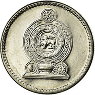 Monnaie, Sri Lanka, 50 Cents, 2002, TTB, Nickel Plated Steel, KM:135.2a - Sri Lanka